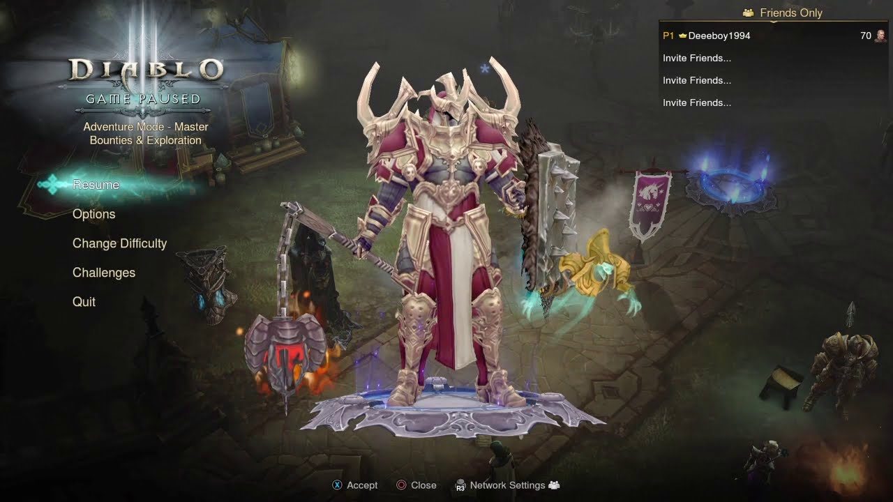 Diablo 3 - All Character Classes (Gameplay)